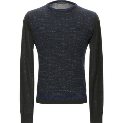 マニュエル リッツ MANUEL RITZ メンズ ニット・セーター トップス sweater Military green
