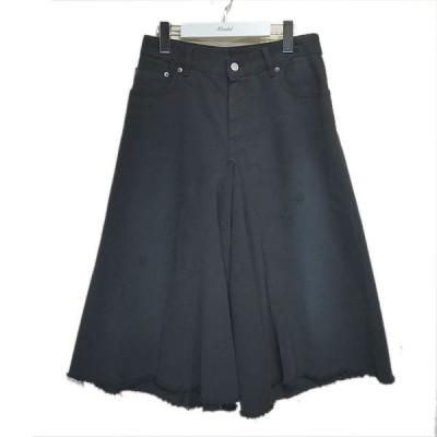 MM6 デニムハーフパンツ ブラック サイズ:38 (栄店) 200705