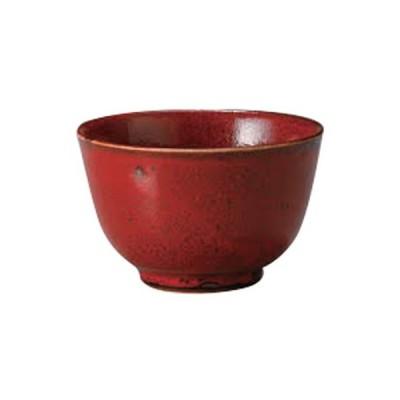 多用碗 和食器 / 赤釉マグマ4.0多用碗 寸法:12.5 x 8cm