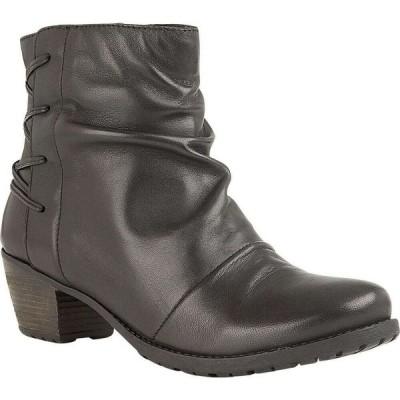 ロータス Lotus Shoes レディース ブーツ ショートブーツ シューズ・靴 Fortune Heeled Ankle Boots Black Leather