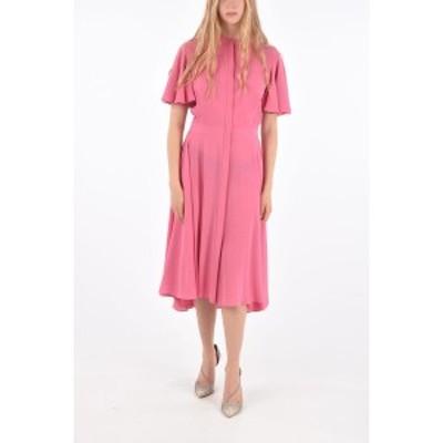 ALEXANDER MCQUEEN/アレキサンダー マックイーン Pink レディース Silk Hidden Closure Shirtdress dk