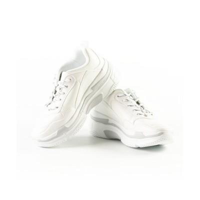 (FOOT PLACE/フットプレイス)レディース スニーカー ダットシューズ キャンディーパラダイス Candy Paradice TRUD-133/レディース ホワイト
