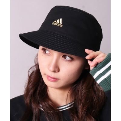 BAYBLO / 【adidas】ブランド ロゴ マーク コットン バケットハット(197-711 552)(EL) WOMEN 帽子 > ハット