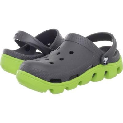 クロックス Crocs レディース クロッグ シューズ・靴 Duet Sport Clog Graphite/Volt Green