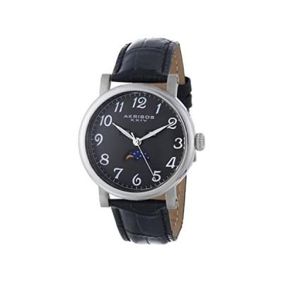 【新品・送料無料】[アクリボス XXIV]Akribos XXIV 腕時計 Retro Multifunction Silver-tone Stainless Stee