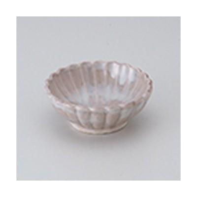 小付 和食器 / 桜釉菊型小付 寸法:8.5 x 3.2cm