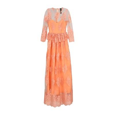 NORA BARTH ロングワンピース&ドレス コーラル 40 ポリエステル 100% ロングワンピース&ドレス
