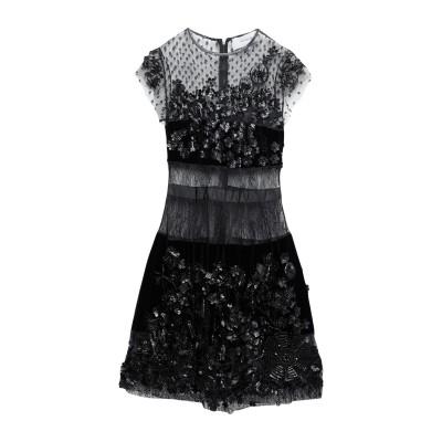 AMEN COUTURE ミニワンピース&ドレス ブラック 40 ポリエステル 100% / ナイロン / ガラス / ポリウレタン / レーヨン