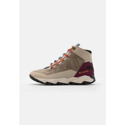 コロンビア メンズ スポーツ用品 FLOWBOROUGH MID - Hiking shoes - ancient fossil/tangy orange