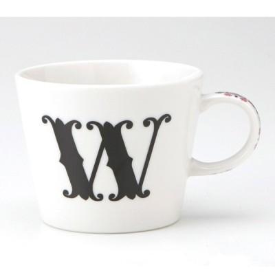 小倉陶器 アルファベット マグカップ W
