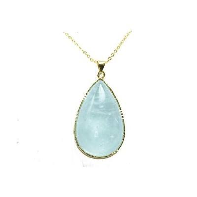 アクアマリンのペンダント ネックレス 3月の誕生石 シルバー925 天然石 厄除け レディース ネックレス 婚約 指輪