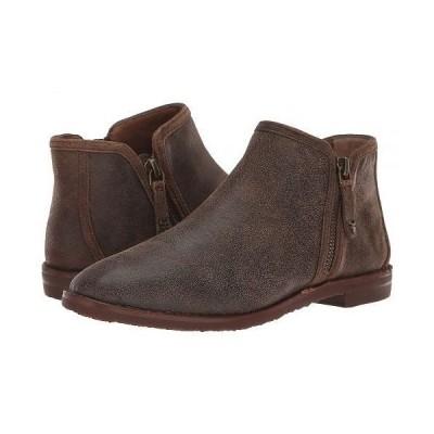 Trask トラスク レディース 女性用 シューズ 靴 ブーツ アンクルブーツ ショート Aubrey - Brown Distressed Italian Suede