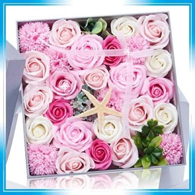 石鹸バラプレゼントボックスは仲間のよい親友に送るだけでなく 引越し 母の日 誕生日バレンタインデー 感謝