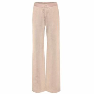 ボッテガ ヴェネタ Bottega Veneta レディース ボトムス・パンツ Wool and silk-blend trousers mink