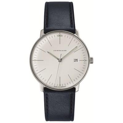 041/4464.00(2年間保証)ユンハンス正規特約店のマックスビル・クオーツ・カレンダー付メンズ腕時計JUNGHANS正規品