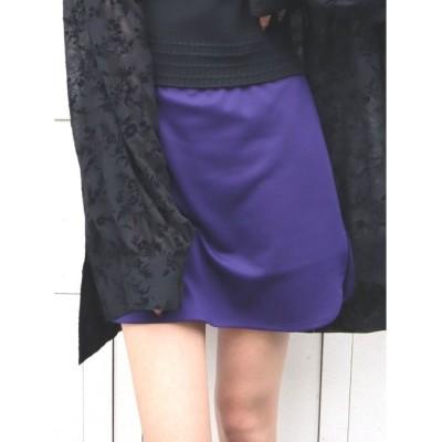 【エモダ/EMODA】 ステッチカーブタイトミニスカート