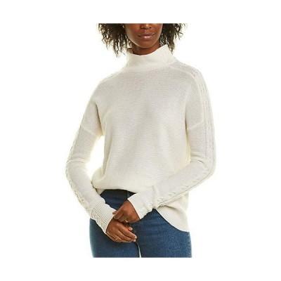 レディース ファッション  Forte Cashmere Stitch Detail Cashmere Sweater