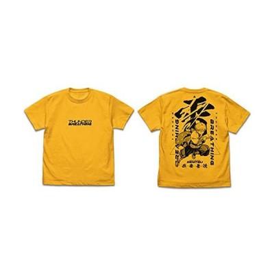 鬼滅の刃 無限列車編 雷の呼吸 我妻善逸 Tシャツ/GOLD−L