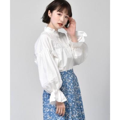 レトロガール RETRO GIRL HNはしごレースBL (オフホワイト)