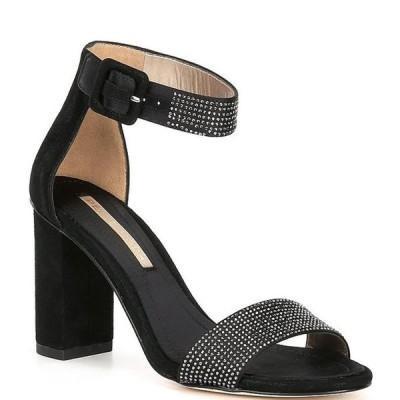 ペレモーダ レディース サンダル シューズ Zoey 2 Suede Crystal Embellished Dress Sandals