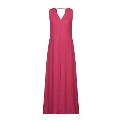 メルシー ..,MERCI ロングワンピース&ドレス フューシャ XS ポリエステル 100% ロングワンピース&ドレス