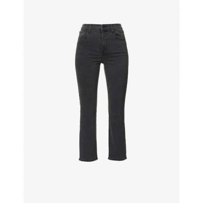 ジェイ ブランド J BRAND レディース ジーンズ・デニム ボトムス・パンツ Alma straight-leg high-rise jeans Affect