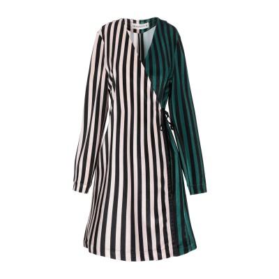 SHIRTAPORTER ミニワンピース&ドレス ベージュ 40 ポリエステル 100% ミニワンピース&ドレス