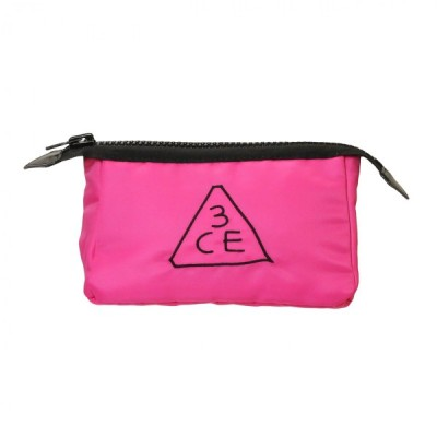 スリーコンセプトアイズ 3CE 化粧ポーチ(S)#ピンク (化粧ポーチ)