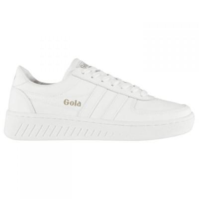 ゴーラ Gola メンズ スニーカー シューズ・靴 Grandslam Leather Trainers White