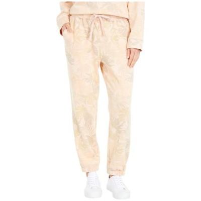 スプレンディット レディース カジュアルパンツ ボトムス Palm Printed Tie Waist Pants
