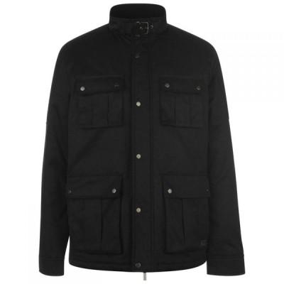ファイヤートラップ Firetrap メンズ ジャケット アウター 4 Pocket Jacket Black