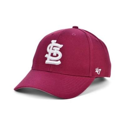 47ブランド レディース 帽子 アクセサリー St. Louis Cardinals Cardinal MVP Cap