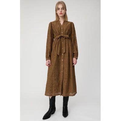 GEOMETRIC LACE ドレス