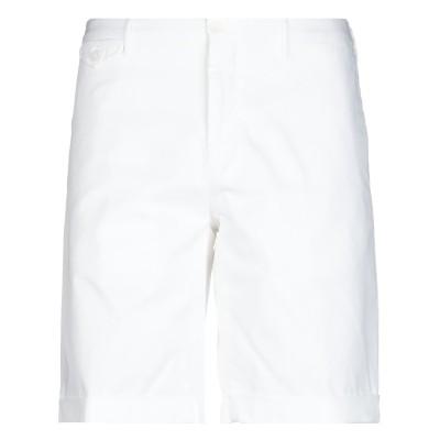 インコテックス INCOTEX バミューダパンツ ホワイト 60 コットン 97% / ポリウレタン 3% バミューダパンツ