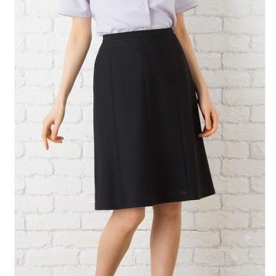 高通気で消臭機能付きマーメイドスカート 事務服 オフィス制服 Selery 2018SS ひざ丈 きれいめ