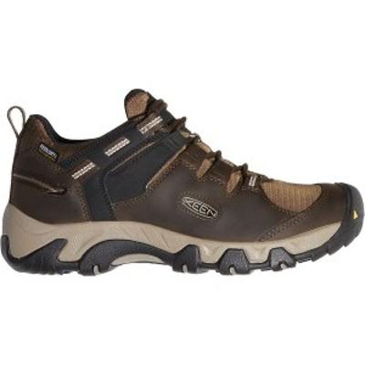 キーン メンズ スニーカー シューズ Steens WP Hiking Shoe Canteen/Brindle