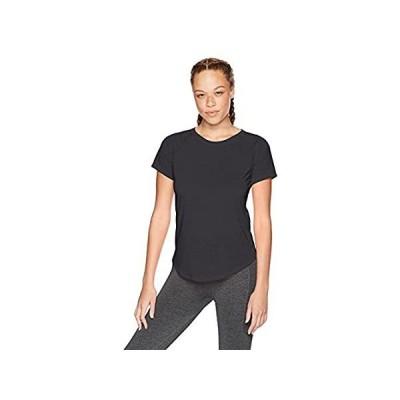 並行輸入品 [アンダーアーマー] ウィスパーライトショートスリーブTシャツ(トレーニング/Tシャツ) 1324144 レディース BLK/BLK/TNL 日本 L