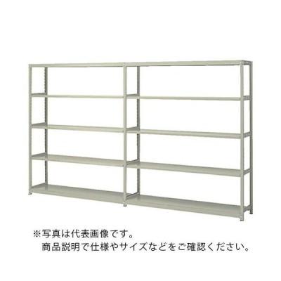 ナイキ 軽中量ラック連結 W905×D455×H1805 (RFM635J-5) (株)ナイキ (メーカー取寄)