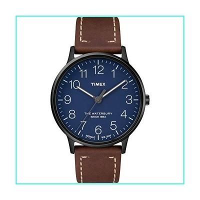 【新品】Timex Waterbury Classic 40mm Leather Strap Watch TW2R25700(並行輸入品)