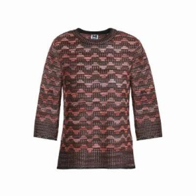 ミッソーニ その他トップス Metallic crochet-knit top Black