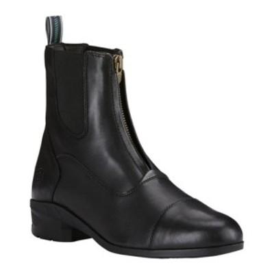 アリアト メンズ ブーツ&レインブーツ シューズ Heritage IV Zip Paddock Boot Black Full Grain Leather