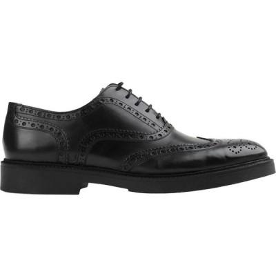 D'74 メンズ 革靴・ビジネスシューズ シューズ・靴 Laced Shoes Black