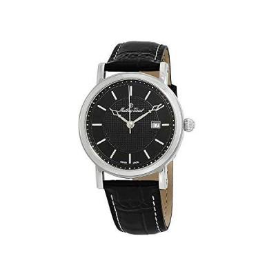 (新品) Mathey-Tissot City Black Dial Men's Watch H611251AN