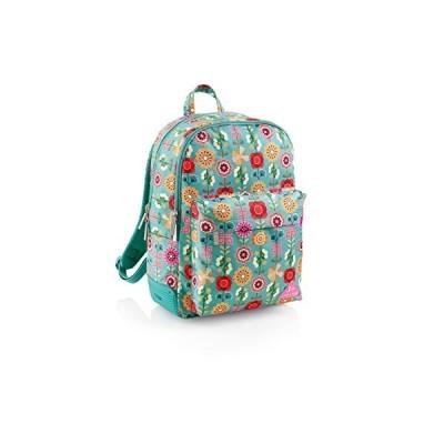 Jordi Labanda Labanda Floral Mochila Grande Triple Pro, 25 L Children's Backpack, 43 cm, Multicolour (Multicolor) 並行輸入品
