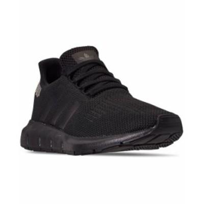 アディダス レディース スニーカー シューズ Women's Originals Swift Run Casual Sneakers from Finish Line Core Black