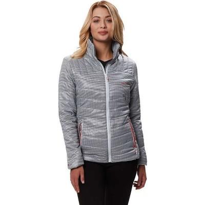 レガッタ ジャケット・ブルゾン レディース アウター Regatta Women's Icebound III Jacket Printed Light Steel