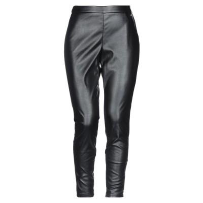 LE COEUR TWINSET パンツ ブラック M ポリエステル 100% / ポリウレタン樹脂 パンツ