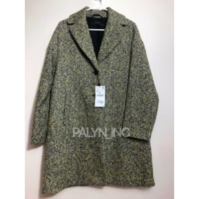 Rare  ファッション 衣類 Rare _ nwt zara long male Boucle Coat _ s