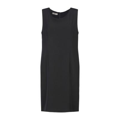 ELEONORA AMADEI ミニワンピース&ドレス ブラック 44 ポリエステル 95% / ポリウレタン 5% ミニワンピース&ドレス