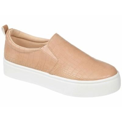 ジャーニーコレクション スニーカー シューズ レディース Comfort Foam Patrice Platform Sneaker Tan